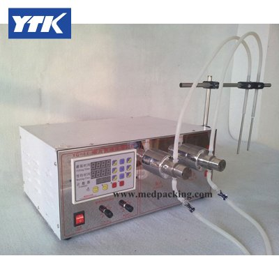5ml to unlimited Magnetic Gear Pump Filling Machine Double Head