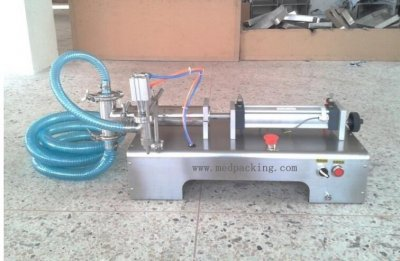 5-100ml Single Head Liquid Softdrink Pneumatic Filling Machine