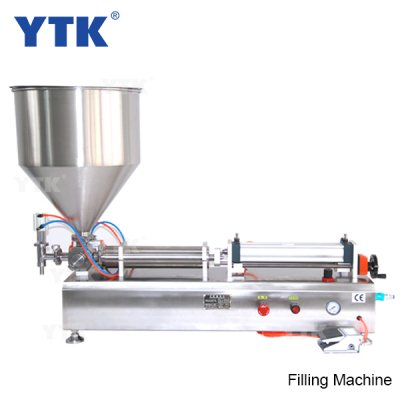 50-500ml Single Head Cream Pneumatic Filling Machine