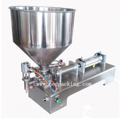 10-300ml Single Head Cream Shampoo Filling Machine Paste Filler