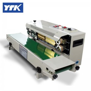 YTK FR900 Plastic Film Sealing packing Machine+Horizontal Sealin