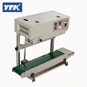 YTK FR900 Vertical Plastic Film Sealing packing Machine+Date Pri