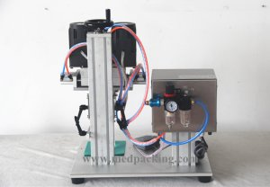 Semi-automatic Screw Cap Capping Machine for screw cap 10-50mm