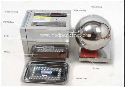HK-88A Multi-function Pill Making Machine
