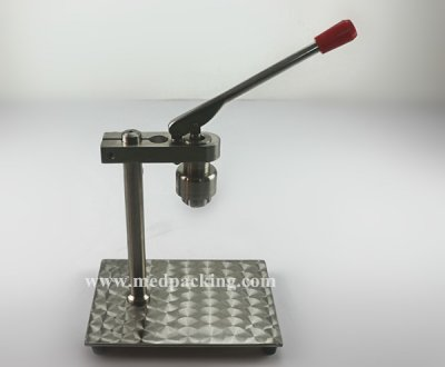 Desktop Capping Machine for Flip Off Cap or Tear Off Cap