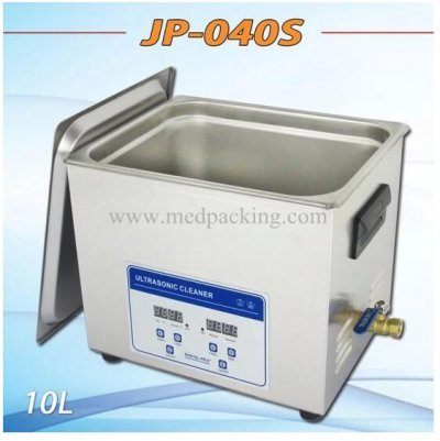 Ultrasonic cleaner JP-040S 10-liter metal parts PCB board cleani