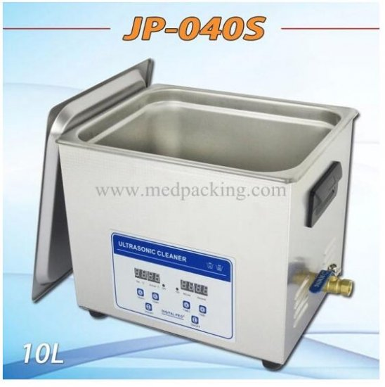 Ultrasonic cleaner JP-040S 10-liter metal parts PCB board