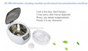 Ultrasonic cleaner JP-900S LCD control household cleaner glasses