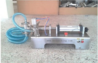 300-2500ml Single Head Liquid Softdrink Pneumatic Filling Machin