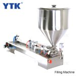50-1000ml Single Head Cream Shampoo Filling Machine with Mixer