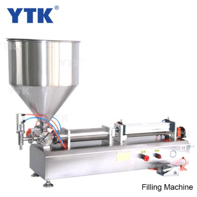 500-3000ml Single Head Cream Shampoo Pneumatic Filling Machine