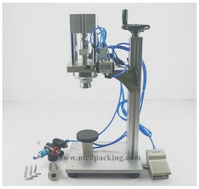 Best-seller Pneumatic Perfume Capping Machine for Perfume Spray