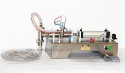 30-500ml Single Head Liquid Softdrink Pneumatic Filling Machine