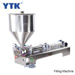 100-1000ml Single Head Cream Pneumtic Filling Machine