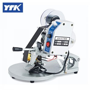 Manual Number Words Date Printing Machine for Bag & Paper & Film