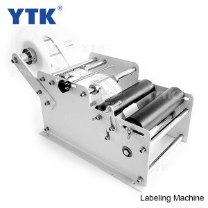 New manual labeling machine