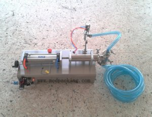 200-1500ml Single Head Liquid Softdrink Pneumatic Filling Machin