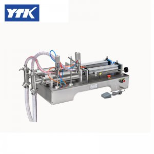 1000-5000ml Double Head Liquid Pneumatic Filling Machine