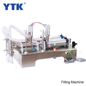 100-1000ml Double Heads Liquid Pneumatic Filling Machine