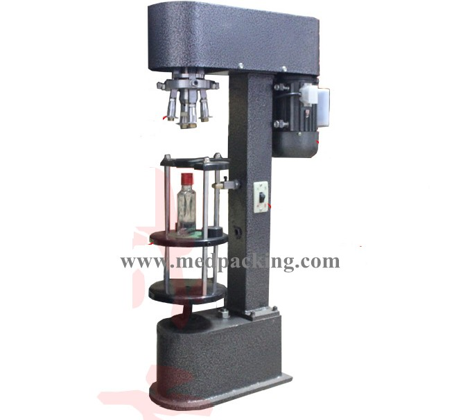 Electrical Capping Machine For Beverage Bottle Wine